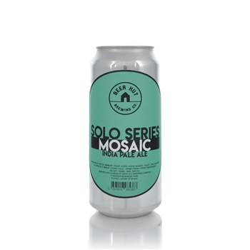 Beer Hut Brewing Company Solo Series Mosaic IPA 6.0% ABV  - Click to view a larger image