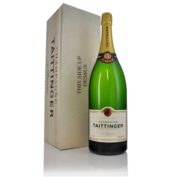 Taittinger Brut Reserve NV Jerobaom  - Click to view a larger image