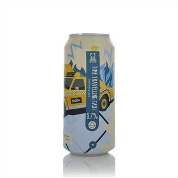 Brew York Time Travelling Taxi DDH Pale Ale 5.7% ABV  - Click to view a larger image