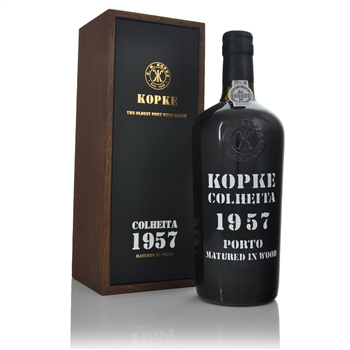 Kopke Colheita Tawny Port 1957 750ml  - Click to view a larger image