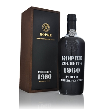 Kopke Colheita Tawny Port 1960 750ml  - Click to view a larger image