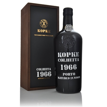 Kopke Colheita Tawny Port 1966 750ml  - Click to view a larger image