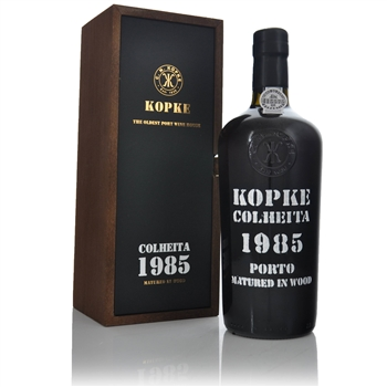 Kopke Colheita Tawny Port 1985 750ml  - Click to view a larger image