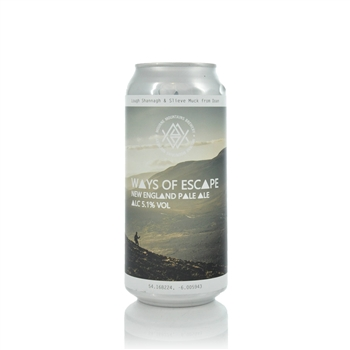 Mourne Mountains Brewery Ways Of Escape NE Pale Ale 5.1% ABV  - Click to view a larger image