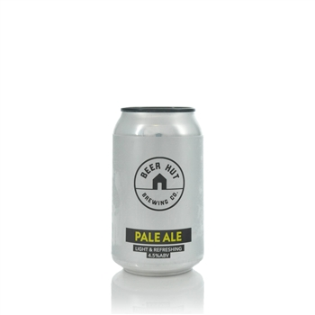 Beer Hut Brewing Company Pale Ale 4.5% ABV  - Click to view a larger image