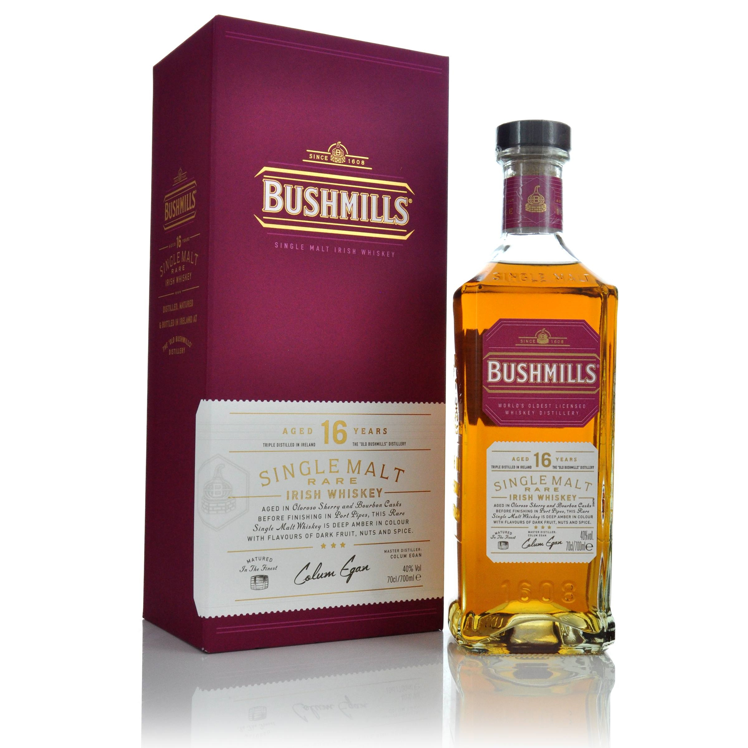 Bushmills 16 Year Old Single Malt Irish Whiskey  1