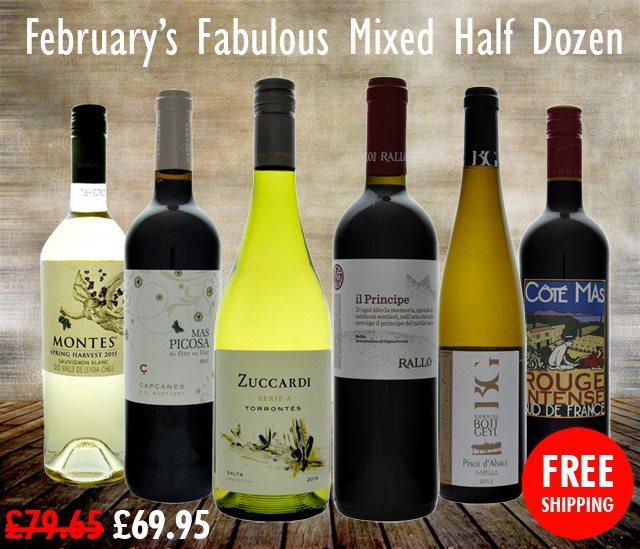 February's Fabulous Mixed 6