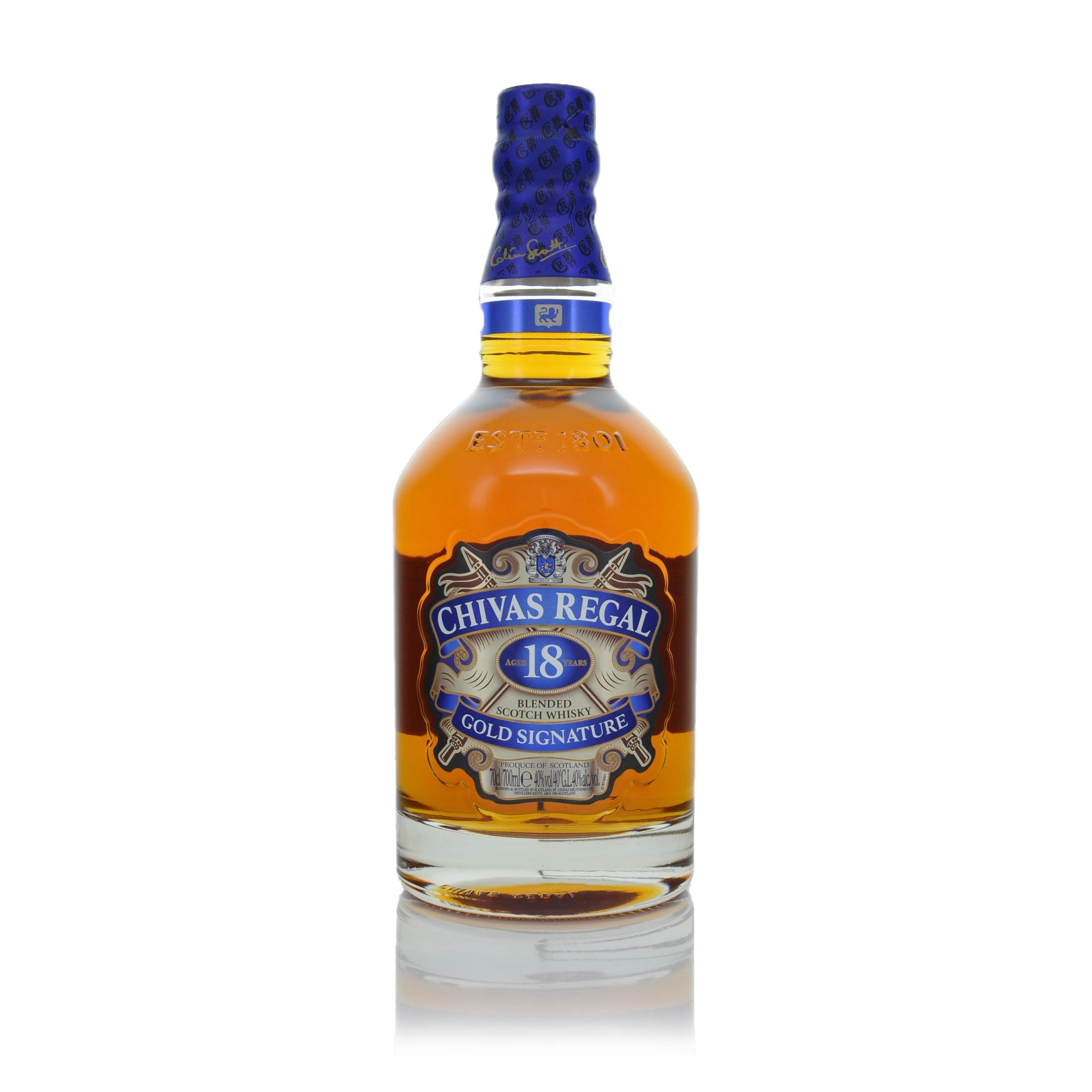0dc748379 Chivas Regal Gold Signature 18 year old - Click to view a larger image
