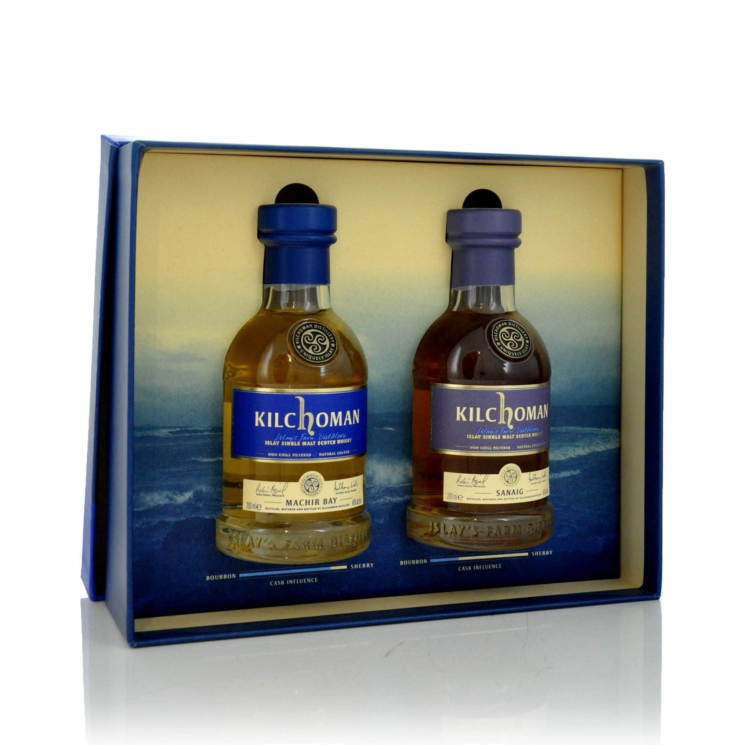Kilchoman 20cl Twin Gift Set - Click to view a larger image