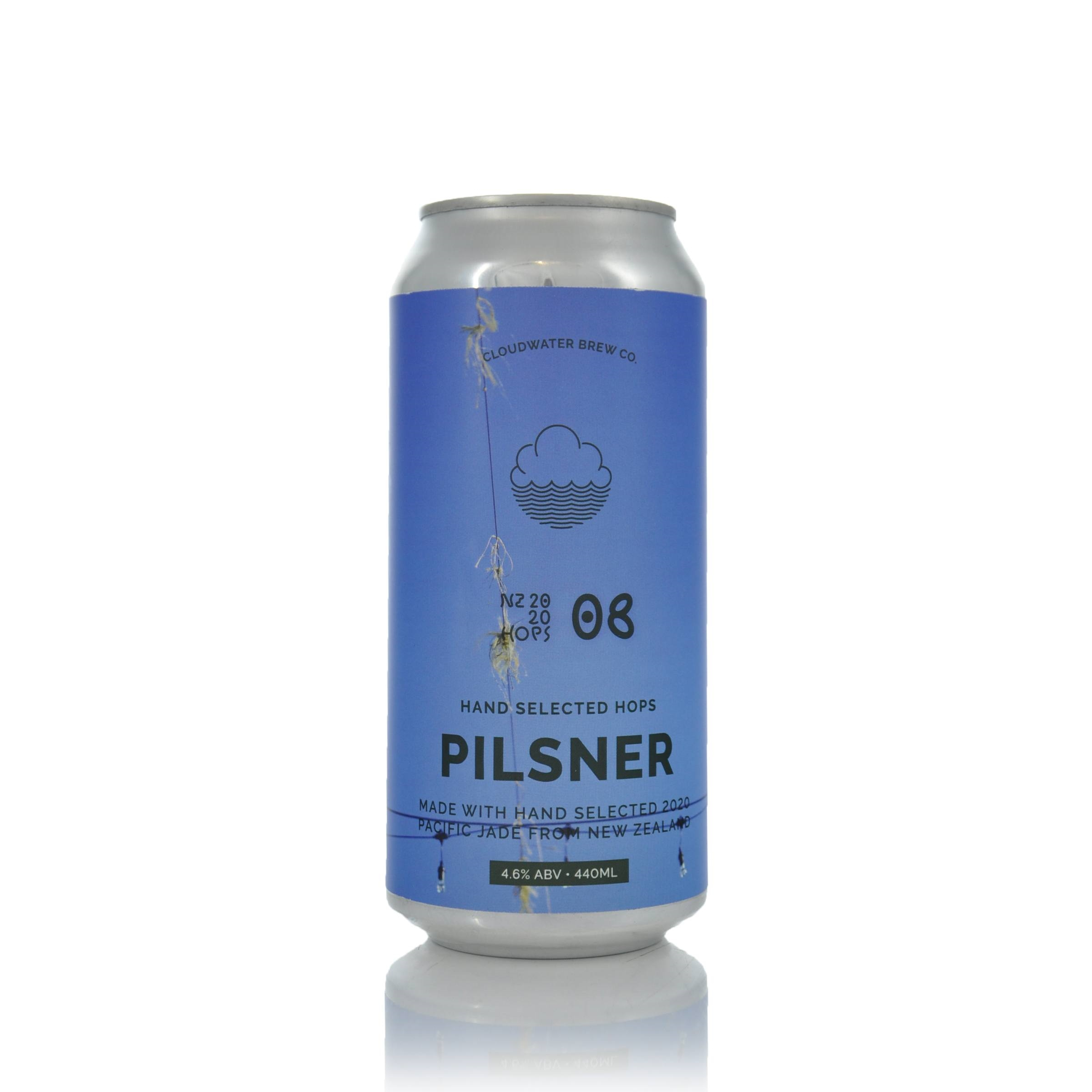 Cloudwater Brew Co Tufts Of Twine In Upper Moutere Pilsner 4.6% ABV BBD 29/04/2021 1
