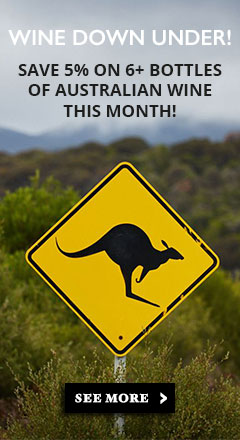 Celebrate Wine down under month!
