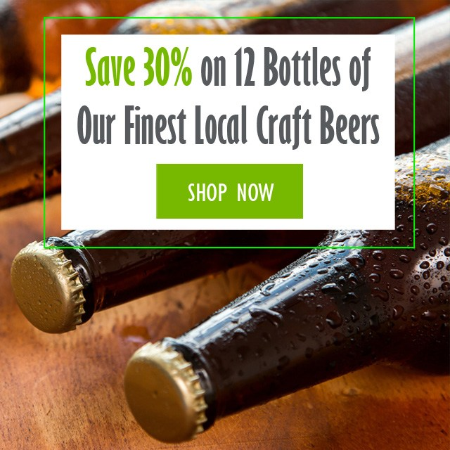 30% Off a Case fo Local Craft Beers