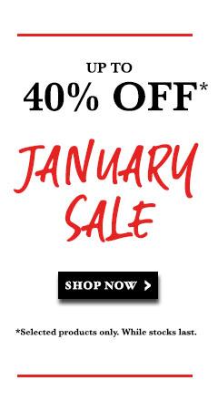 Shop our January Sale!